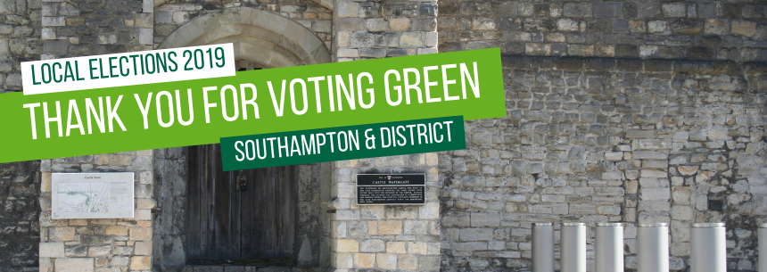Thank you for voting Green