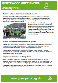 Portswood Newsletter January 2016