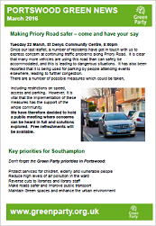 Portswood Newsletter March 2016