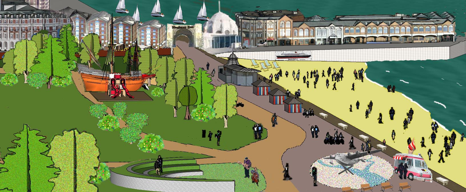 A possible vision for an accessible waterfront